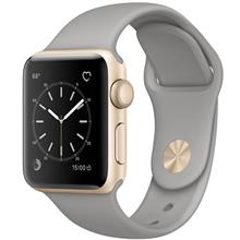 Apple Watch 38mm Gold Aluminum Case with Concrete Sport Band